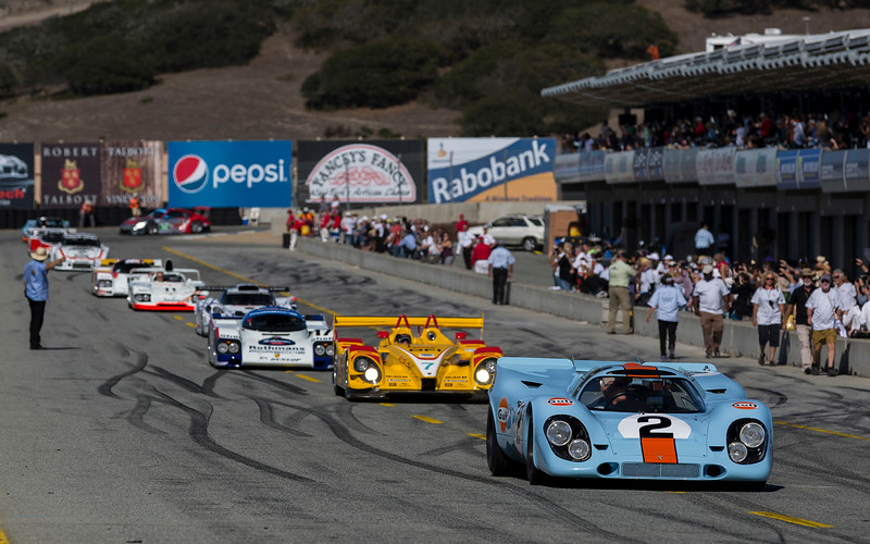 orsche Rennsport Reunion V - Legends of Le Mans
