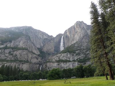 Day 11,12 6/08,09 -- Petaluma CA through Yosemite to Lee Vining/Mono Lake, CA