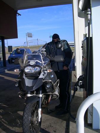 DAY 4 -- Thur 11/22/2007 -- Denton, TX to Amarillo, TX