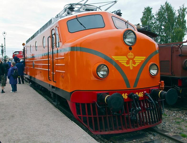 Swedish engine Rapid