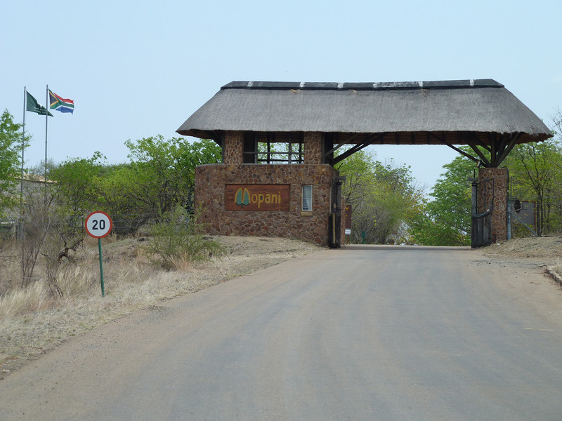 048 Entering Mopani Camp