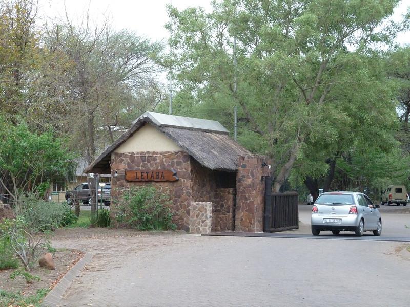 043 Entering Letaba Camp