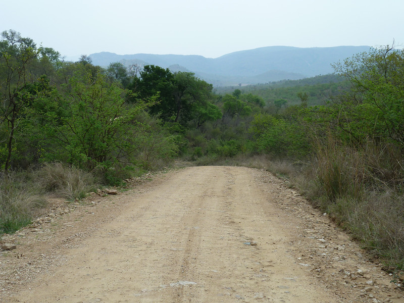 078 Kruger roads - some are fairly rough as they get washed out regularly by rain