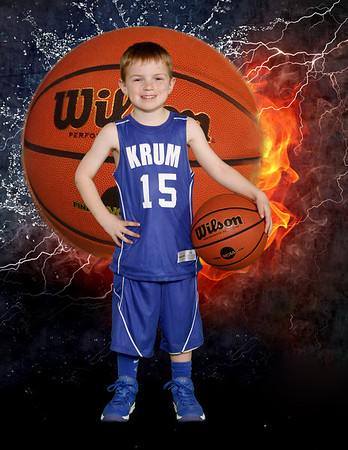 Krum Pee Wee Basketball 2014
