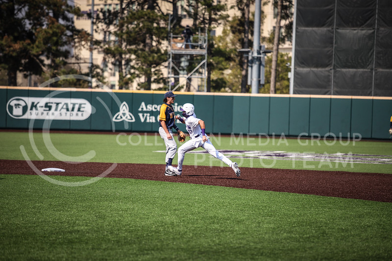 Redshirt Junior Kamron Willman running to steal second base on Saturday (April 24, 2021) game against Western Virginia at Toniton Stadium. <br /> Elizabeth Proctor Collegian Media Group