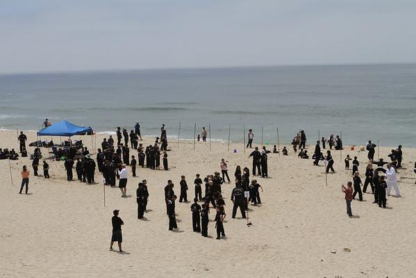 Kuk Sool Beach Training July 2010