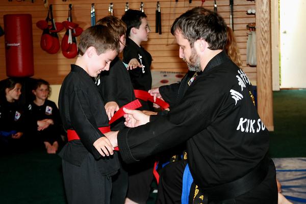 Kuk Sool Red Belt Proofs May 18 2007