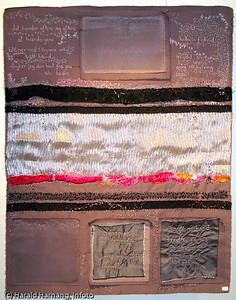 Bildekunstner Anne Lill Heiving fra Narvik, bosatt i Sandefjord. Fra utstilling i Galleri Ofoten i desember 2007. Adr: annelillheiving@yahoo.com. mob 997 45 222.