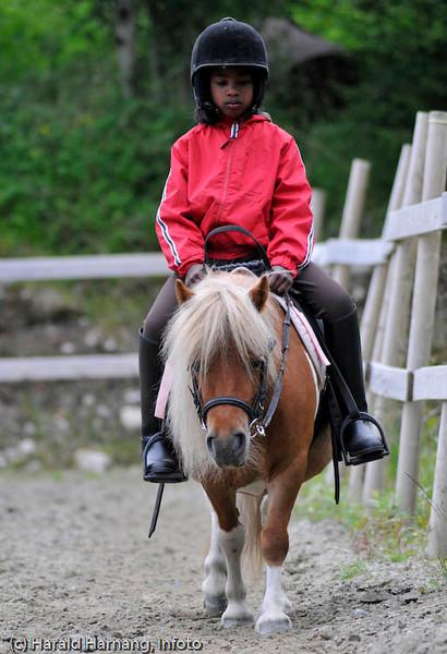 Gunn Kaianders rideskole i Håkvik.