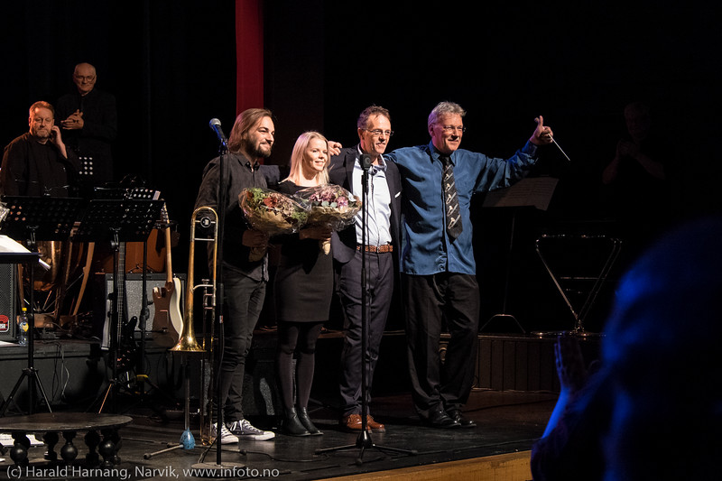 Jernbanens musikkorps Narvik og Jens Wendelboe 24. sept 2016