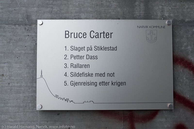 Bruce Carter, fresker, mosaikkbilder