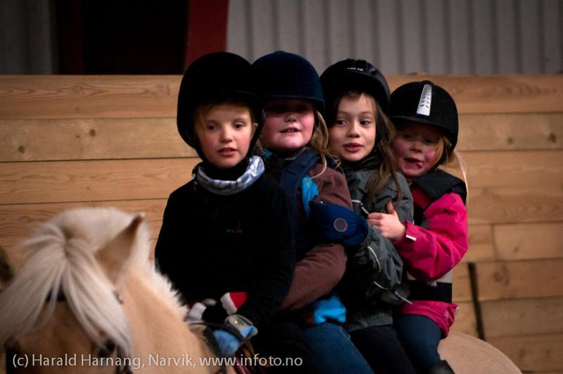 Ridekurs Skjomen Ridesenter, oktober 2011.