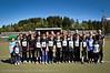 Alle deltakerne fra Narvik Idrettslag. Narviklekene 2012. Narvik stadion. Foto: 16.-juni. (c) Harald Harnang, Narvik.