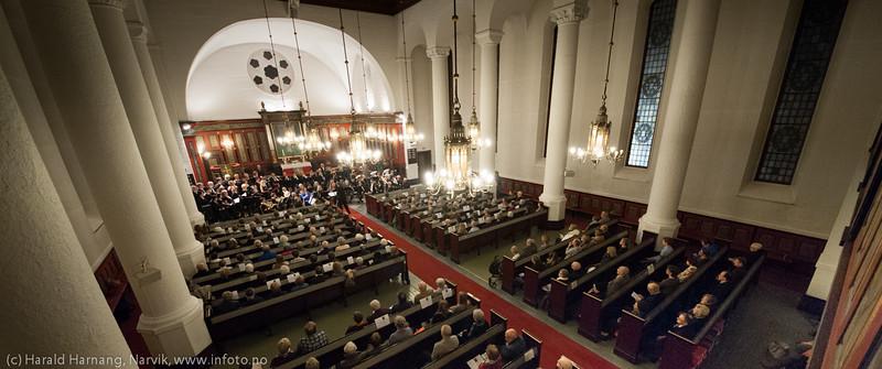 nyttårskonsert i Narvik kirke 10. januar 2015