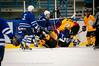 """Ikke akkurat noen """"frøkensport"""". Kamp Nordkraft Arena, Narvik, 26. november 2011. Narvik vant 17-2."""