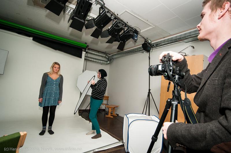 Fotografering. Solhaugen vgs, ulike aktiviteter. Oktober 2012.