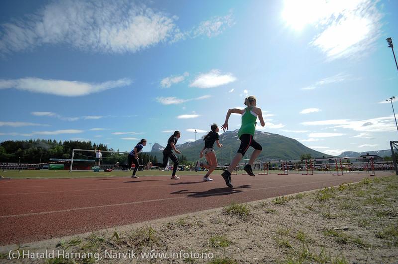 Narviklekene 2011 på Narvik Stadion 18. og 19. juni 2011. Bilder fra forskjellige øvelser.