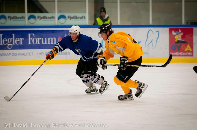 Kamp Nordkraft Arena, Narvik, 26. november 2011. Narvik vant 17-2.