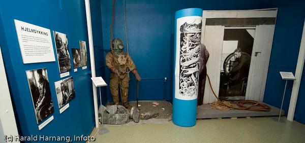 Ofoten Museum, utstilling om dykking i Narvik.