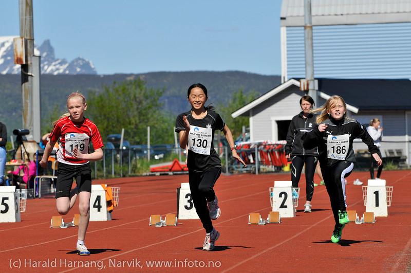 Narviklekene 2012. Narvik stadion. Foto: 16.-juni.