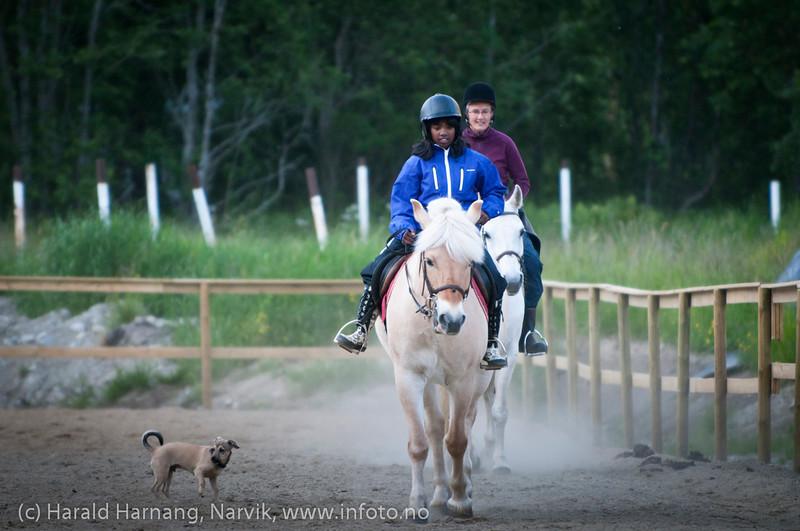 Skjomen ridesenter, juni 2011.