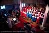"""""""Jubelkonsert"""", Ankenes kirke. Ankenes og Håkvik barnekantori (1987-2012) pluss Narvik barne og ungdomskantori. 24. mars 2012."""