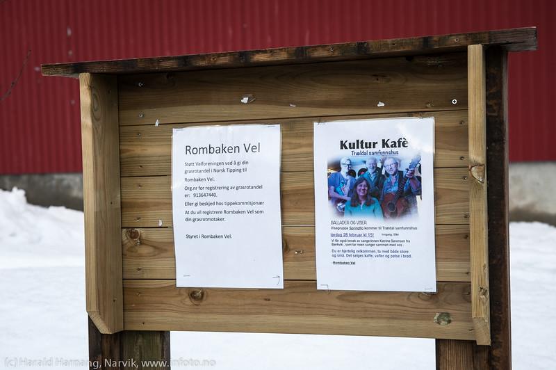Kulturkafé på Trældal Samfunnshus 28. februar 2015