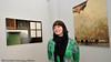 """Vinterfestuka 2008. Veronica Nergård var  årets fotokunstner i Ofoten Museum.  En """"ny"""" tradisjon der unge kunstnere får vise seg frem i disse godt besøkte lokalene hver VU."""