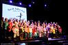Hele Narvik skolekor. Konsert Folkets Hus, Narvik, 17.1 2009. Mønstring av kulturlivet og kulturskolens viktighet i forb. m. forslag om å kutte stilinger og penger til kulturskolen.