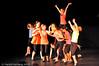 Vinterfestuka 2008, fra forestilling på Barnas Scene, Oscarsborg vgs, Kulturskolen med akrobatikk og dans.
