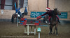 Juleshow i stallen hos Narvik Rideskole i Skjomen, november 2013.