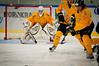 Fryktinngytende utseende på en keeper. Nødvendige greier. Kamp Nordkraft Arena, Narvik, 26. november 2011. Narvik vant 17-2.