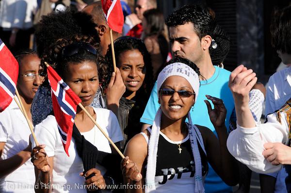 17. mai 2009 i Narvik.