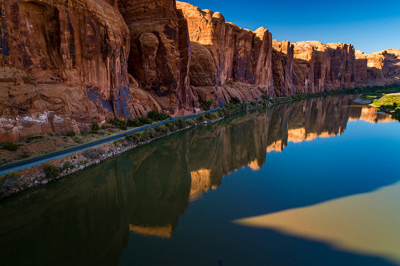 CLIFF REFLECTIONS