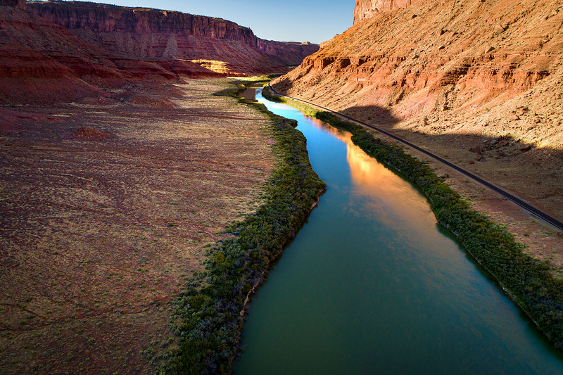 COLORADO RIVER EAST OF MOAB ON HWY 128