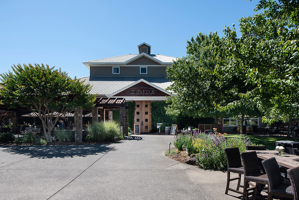Kunde Winery Front View June 20, 2018