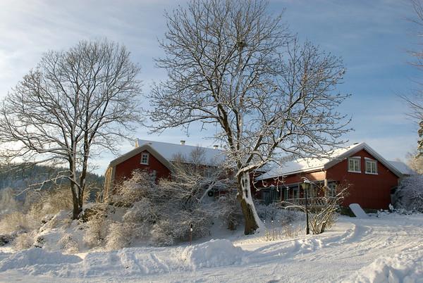 Holm Gård Vinterbilder