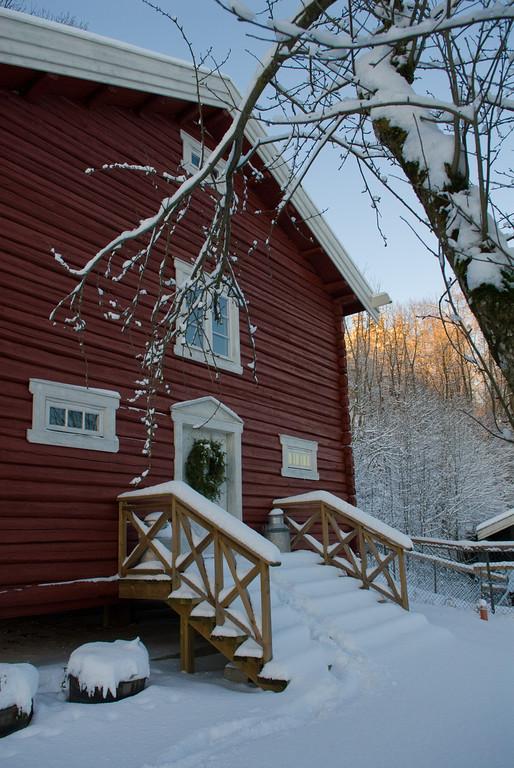 Holm Gård Stabburet -  Vinter