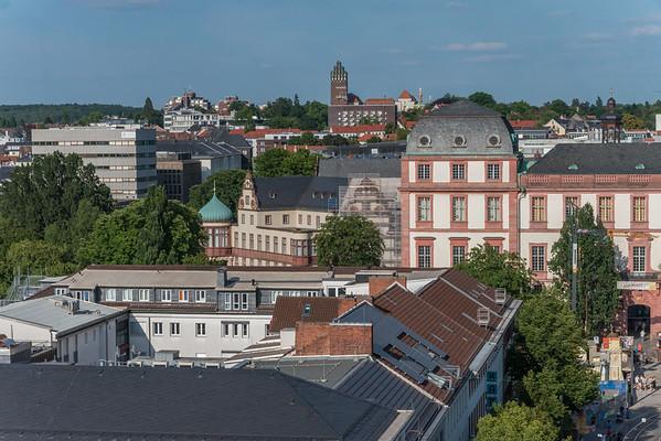 Blick vom Langen Ludwig nach Osten