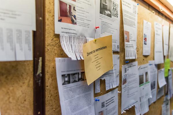 Wohnungsgesuche an der Mensa Lichtwiese in Darmstadt