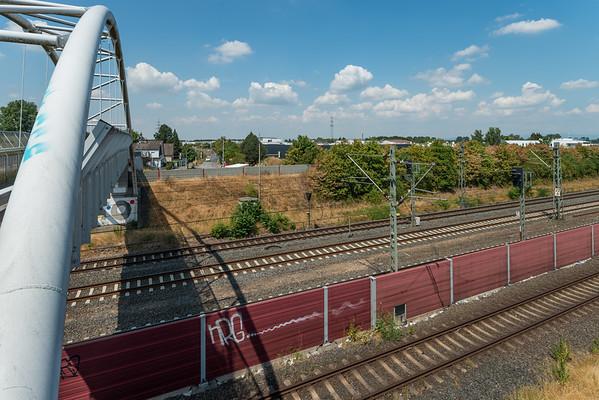 S-Bahnhof Darmstadt-Arheilgen, Richtung Nordwesten