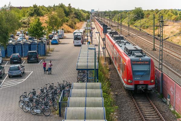 S-Bahnhof Darmstadt-Arheilgen, Richtung Süden