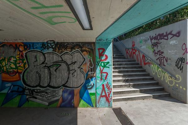 Unterführung Julius-Reiber-Straße unter Kasinostraße
