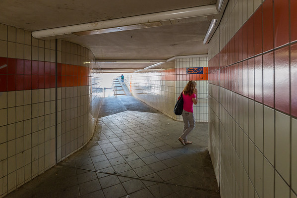 Unterführung beim S-Bahnhof Wixhausen