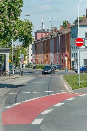 Haardtring, Ecke Moltkestraße (am Südbahnhof Darmstadt)  (Foto: Christoph Rau)