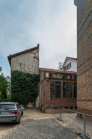 Hinterhof Barkhausstraße, Richtung Süden  (Foto: Christoph Rau)