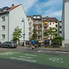 "Pankratiusstraße (""Fahrradstrasse""), Richtung Südosten  (Foto: Christoph Rau)"