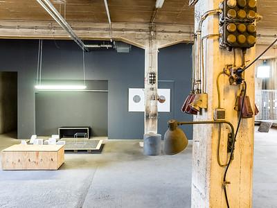 Zwischenutzung einer leeren Werkstatthalle in der Hügelstraße Darmstadt  (Foto: Christoph Rau)