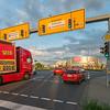 Darmstadt, Carl-Schenk-Ring Richtung Osten, Höhe Pfnorstraße  (Foto: Christoph Rau)