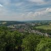 Blick auf Wetzlar von der Burgruine Kalsmunt, Richtung Westen  (Foto: Christoph Rau)